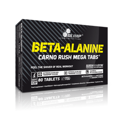 Picture of BETA-ALANINE CARNO RUSH MEGA TABS®