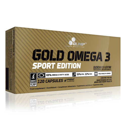Picture of GOLD OMEGA-3 Sport Edition - 120db