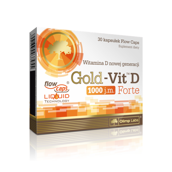Picture of Gold Vit D 1000 Forte 30 kapszula
