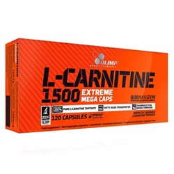 Picture of L-Carnitine 1500 Extreme Mega Caps® 120 kapszula