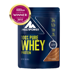 Picture of 100% Fehérje Pure Whey Protein 450g Coffee Caramel