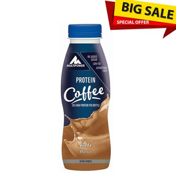 Picture of Protein Shake 330 ml Multipower Coffee Latte