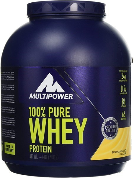 Picture of 100% Pure Whey Protein Fehérje 2000g Banán & Mangó